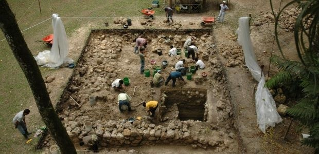 Excavations at Ceibal, an ancient Maya site in Guatemala, suggest that the origins of early Maya civilization are more complex than previously thought.
