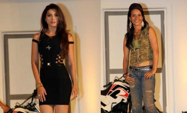 Gauahar Khan and  Geeta Tandon