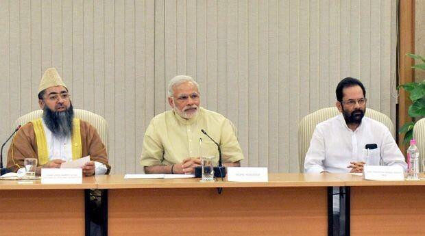 modi meeting with Muslim leaders