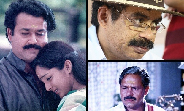 Mohanlal, Manju, Satyan Anthikad and Innocent