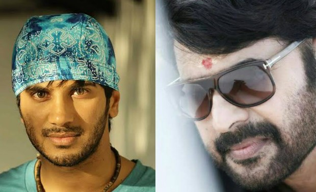 Dulquer Salmaan and Mamootty
