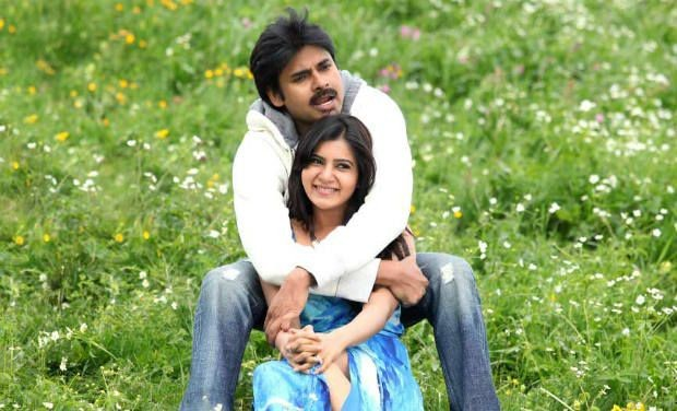 Samantha and Pawan Kalyan in Attarintiki Daredi