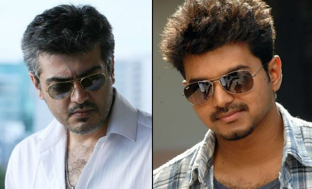 Vijay's 'Puli' First Look on Ajith's 'Thala 56' Launch Day
