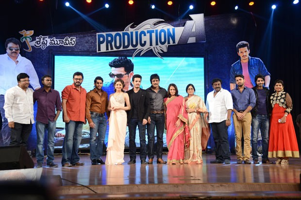 Akhil Akkineni and Sayesha Saigal's Debut Film Launch