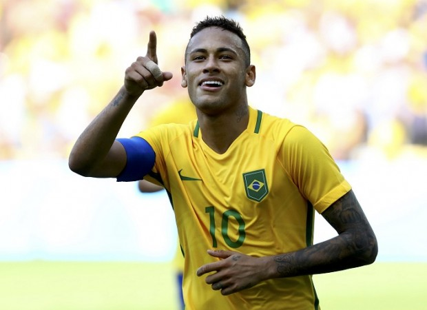 Neymar Brazil Rio Olympics