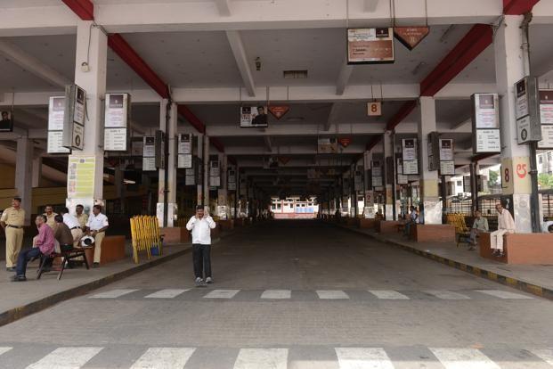 Karnataka Strike,Karnataka Bandh,BMTC,BMTC bus,BMTC bandh,Bangalore Metropolitan Transport Corporation