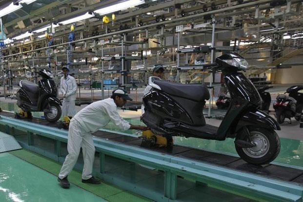 HMSI plant in Tapukara, Rajasthan (representational image)