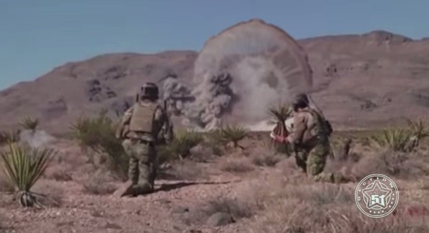 Giant 'Alien Monster' Destroyed by US Militants in New Mexico (You Tube Screenshot/Section 51)