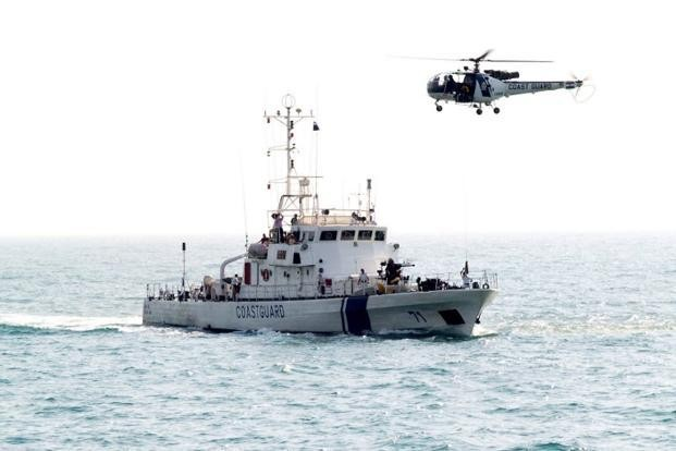 Indian Coast Guard helicopter crashes in Raigad in Maharashtra