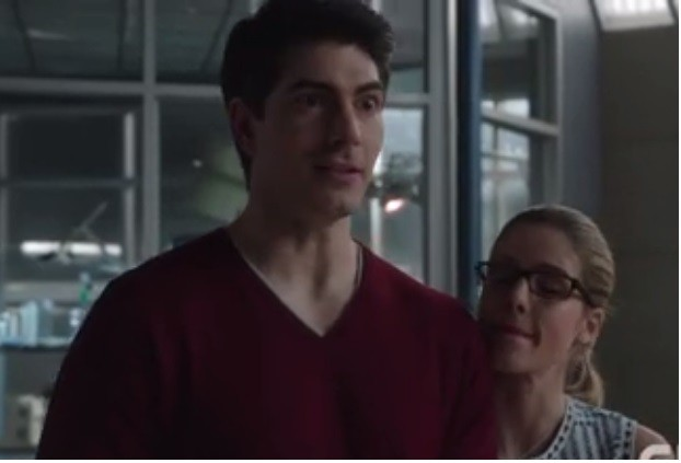 Felicity and Ray are in Central City for episode 18 of The Flash