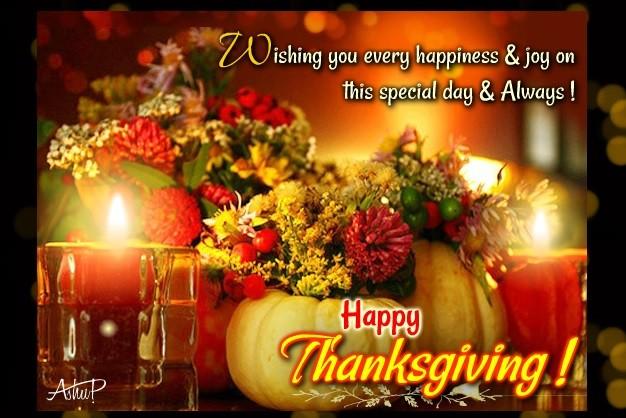 Happy Thanksgiving 2016
