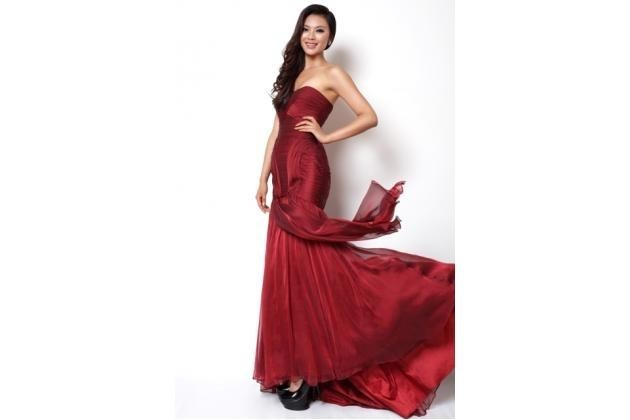 Miss China, Wenxia Yu from The Peoples Republic of China won the coveted Miss World 2012 title. (www.missworld.com)