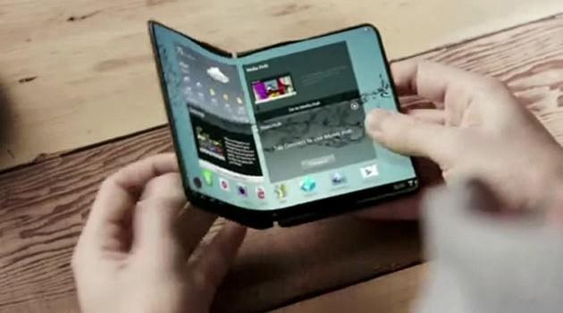Samsung Galaxy F Smartphone Curved Display