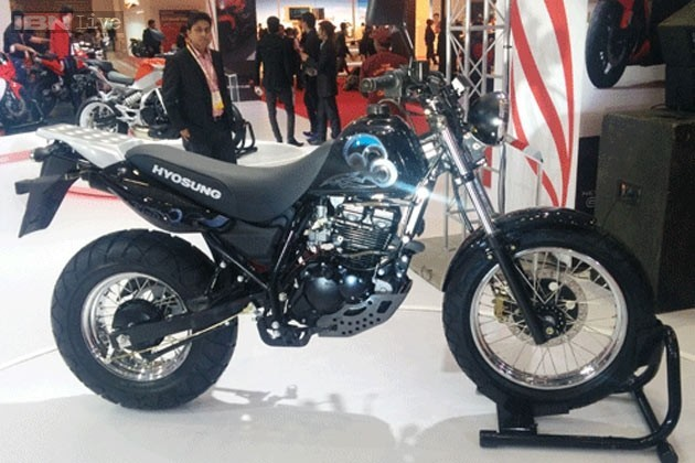 Hyosung RT250D at Auto Expo