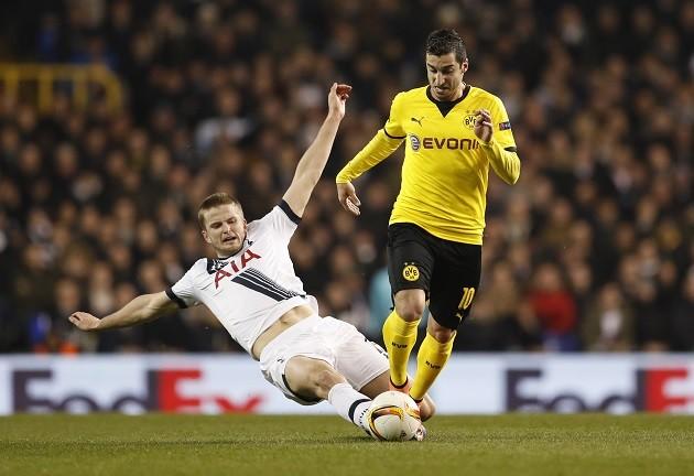 Henrikh Mkhitaryan Borussia Dortmund Eric Dier Tottenham