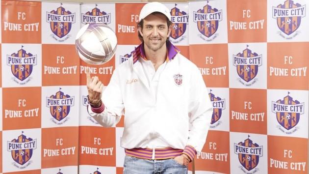 Hrithik Roshan FC Pune City ISL
