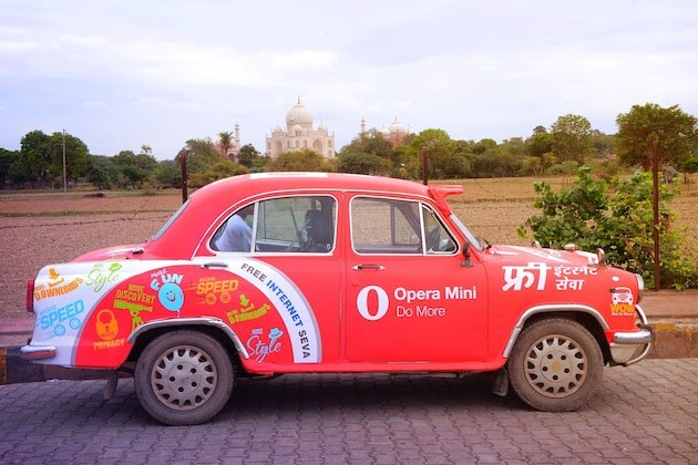 Opera Launches 'Web on Wheels' Wi-Fi-enabled car to provide free Wi-Fi connectivity