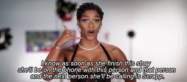 """Joeline has caused trouble for everyone she could manage in Season 5 of """"Love and Hip Hop Atlanta"""""""