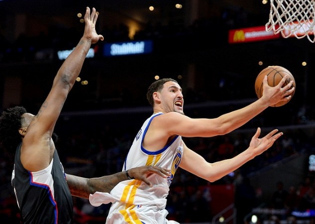 Thompson's splashy scoring leads Warriors past Pacers 120-83