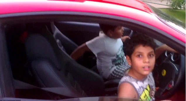 Ferrari kids