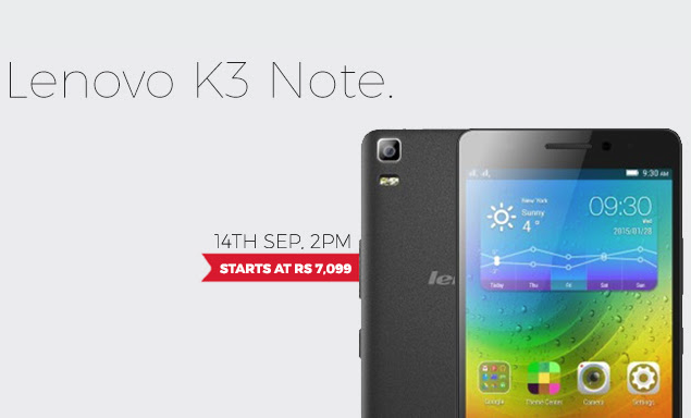 Lenovo K3 Note Flash Sale: Refurbished, Unboxed Units Go On Sale On Overcart Starting At Just Rs 7,099
