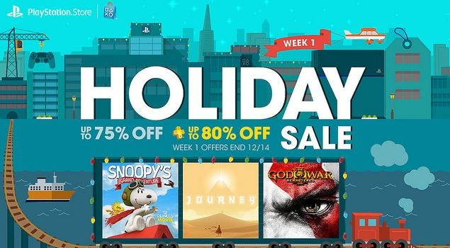 PlayStation Store Holiday Sales