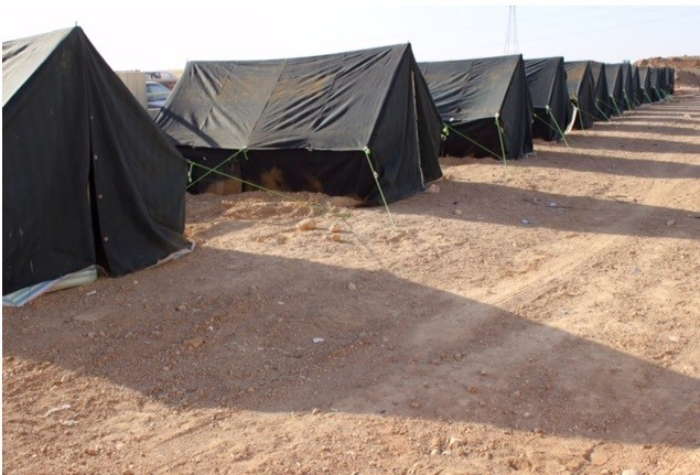 Christian Charity organisations such as Samaritan Mission have setup tents to house the refugees.