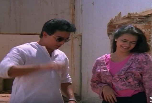 Kamal Hassan and Amala in