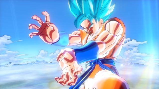 Dragon Ball Xenoverse's Super Saiyan Goku