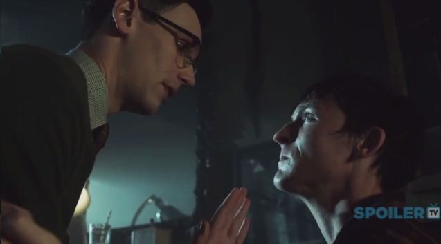 Penguin and Nygma in 'Gotham'