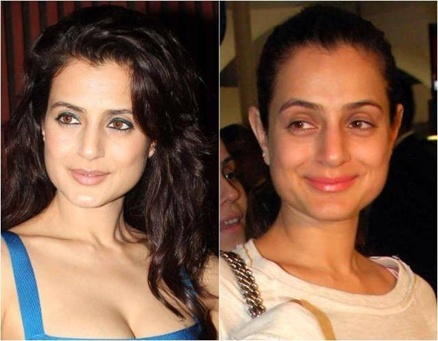 Bollywood Celebs With and Without Makeup - Photos,Images ...