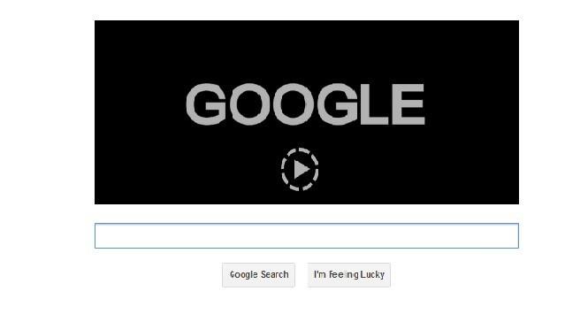Google Doodle on Saul Bass's 93rd  Birthday