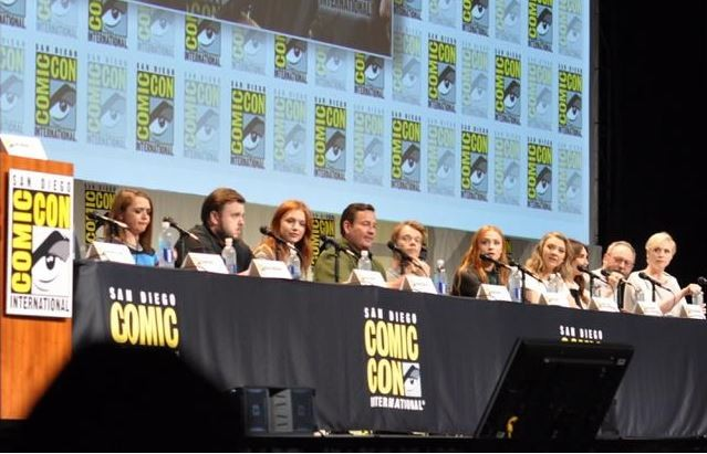 Game of Thrones panel at comic con