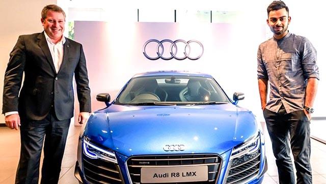 Virat Kohli,cricket player Virat Kohli,virat kohli R8 LMX AUDI,sports car,R8 LMX,Audi R8 LMX,Audi car,Virat Kohli becomes latest owner of Audi's Rs 2.97-cr R8 LMX
