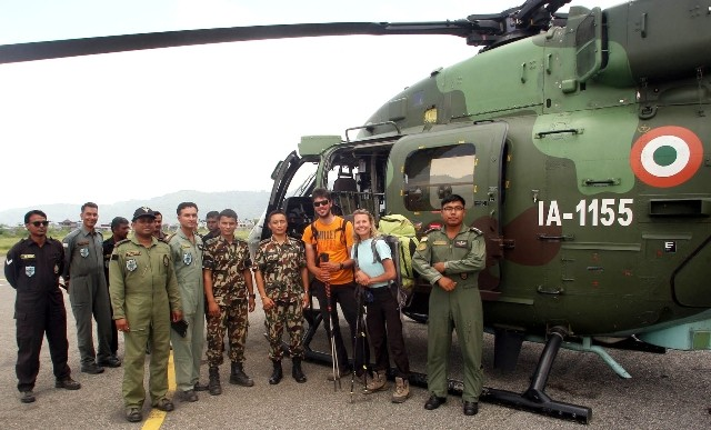 Nepal earthquake,kathmandu,kanthmandu relief operations,Indian Paramedical team