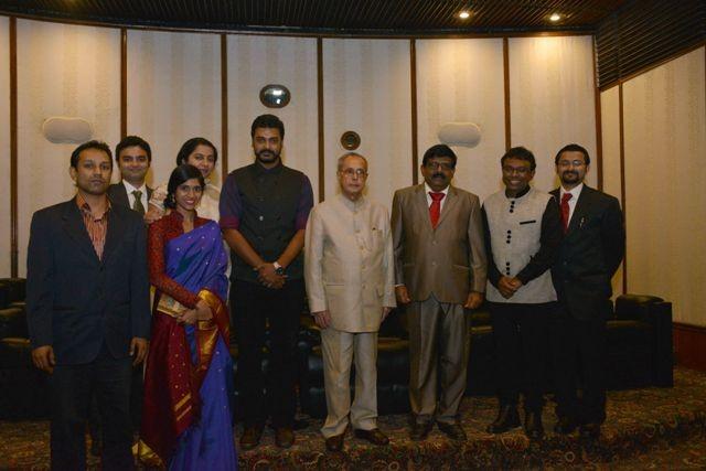 Pranab Mukherjee,Ramanujan,Ramanujan special screening,Ramanujan screening,Rashtrapati Bhavan