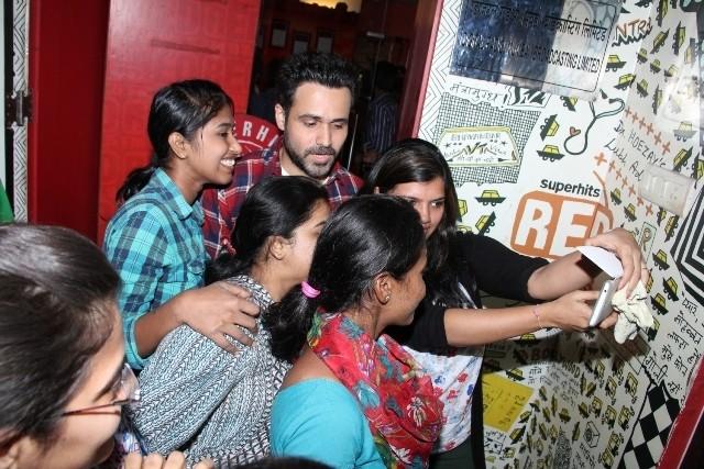 Emraan Hashmi,mr x,mr X promotions,Amyra Dastur,red FM