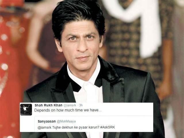 Shah Rukh Khan,#AskSRK,SRK,SRK tweets,#asksrk tweets,Shah Rukh Khan funny replies,SRK funny replies,SRK funny,Shah Rukh Khan in Twitter,SRK in Twitter