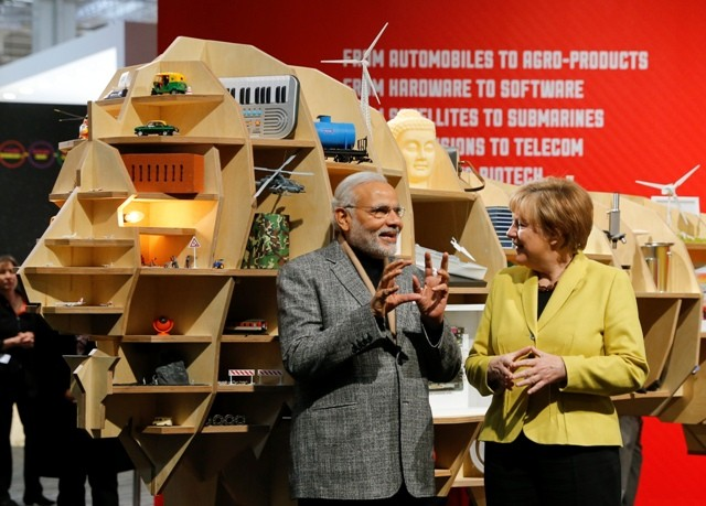 Make in india,narendra modi,make in india germany,Hannover Messe,industrial technology fair
