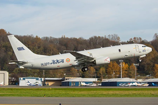 The second Boeing P8Ijoins Indian Navy