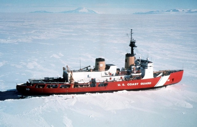 US Coast Guard's Ice Breaker Polar star