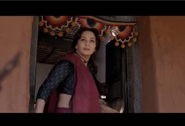 "Madhuri Dixit Nene in ""Gulaab Gang"""