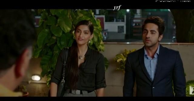 Trailer of Sonam Kapoor and Ayushmann Khurrana Starrer 'Bewakoofiyaan' Released