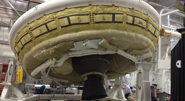 NASA's 'Flying Saucer' Test Flight Set to Launch in June for Mars Mission (NASA/JPL-Caltech)