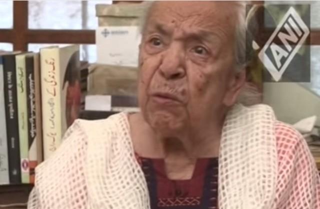 Zohra Sehgal Dies Aged 102