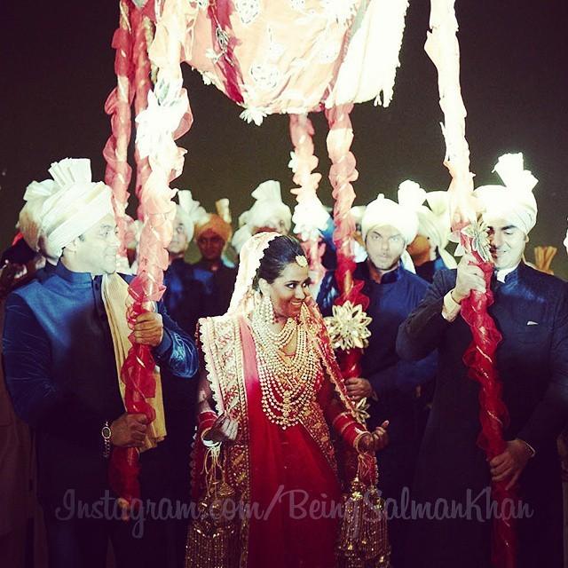 Arpita Khan Wedding Photos