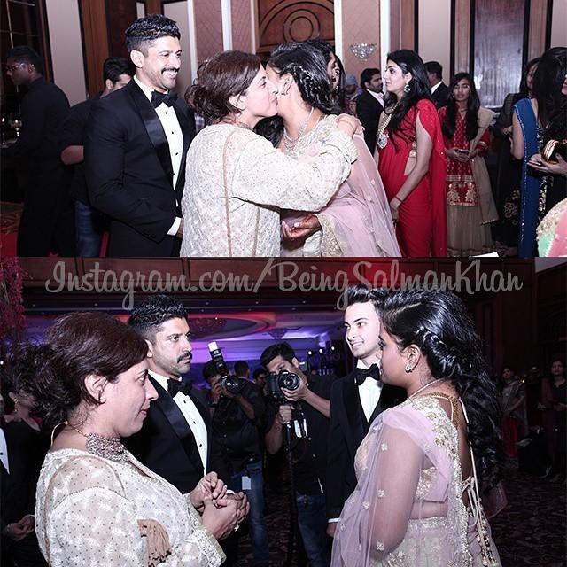 Farhan Akhtar at Arpita Khan's Wedding Reception