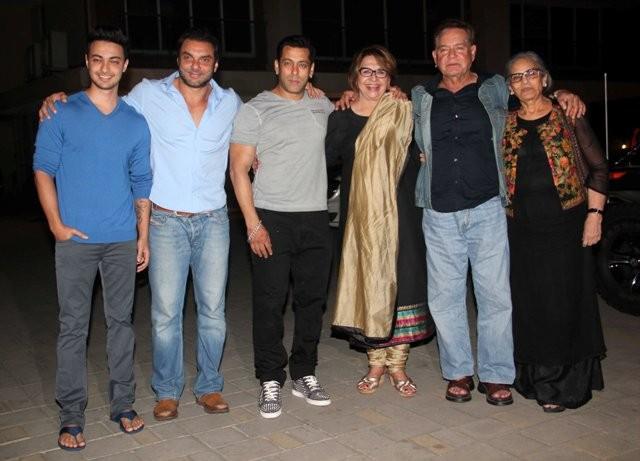 Salman Khan and family
