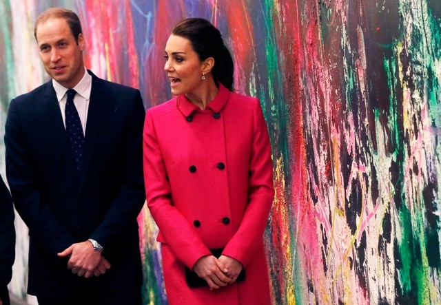 Prince William and Kate Middleton in New York