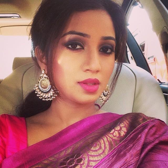 shreya ghosal beautiful look - photo #20